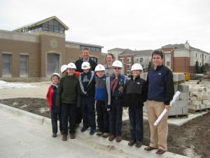 """What Does a Civil Engineer Really Do?"" Site Visit with Local Boy Scout Troop"
