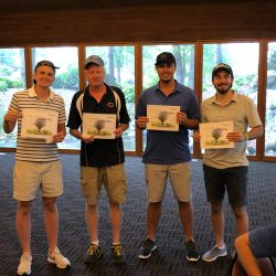 Manhard, Life at Manhard, Golf Score
