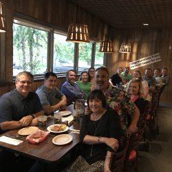 Manhard, Life at Manhard, Tracy Retirement Party